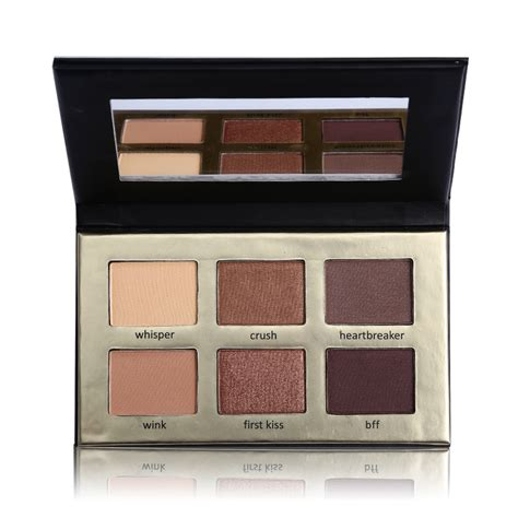 Eyeshadow Sariayu Matte cocosh she brand maquiagem 6 color eye shadow matte eyeshadow palette with mirror paleta de