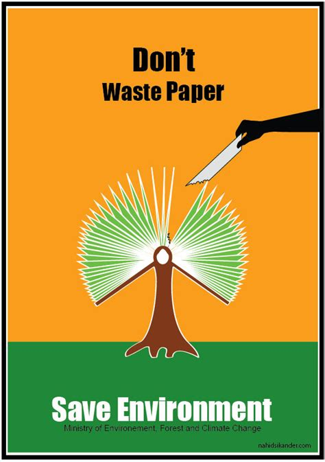 Save Tree Save Essay by Nahid Sikander An Indian Contemporary Artist Page 2