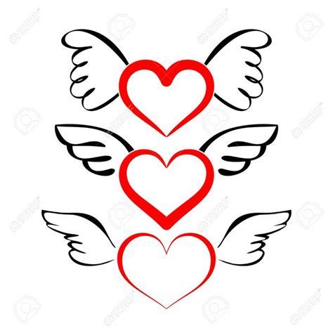 imagenes de corazones goticos con alas 15 pines de tatuaje de coraz 243 n con alas que no te puedes