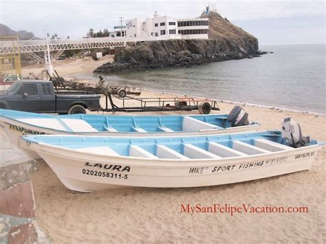 panga boat rental sports fishing in san felipe baja mexico san felipe