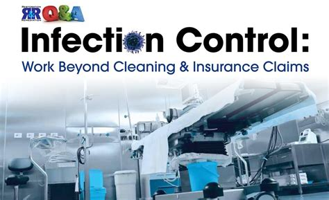 how to clean ins infection control work beyond cleaning insurance claims