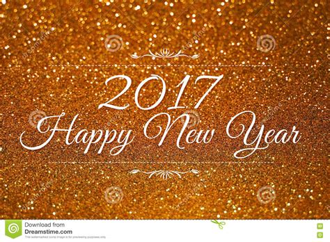 happy new year glitter graphics happy new year 2017 word on gold glitter background stock