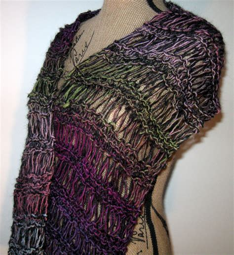knitted scarf pattern cowl or mobius scarf pattern instant