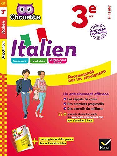 libro italien 3e lv2 14 15 libro giochi e parole niveau 1 apprendre et r 233 viser le vocabulaire italien en s amusant di