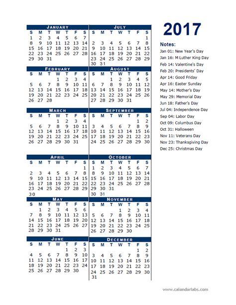 printable calendar 2017 calendar labs 2017 calendar template half page free printable templates