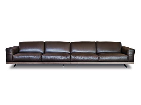 4 seater leather sofa 470 fancy leather sofa by vibieffe design gianluigi landoni