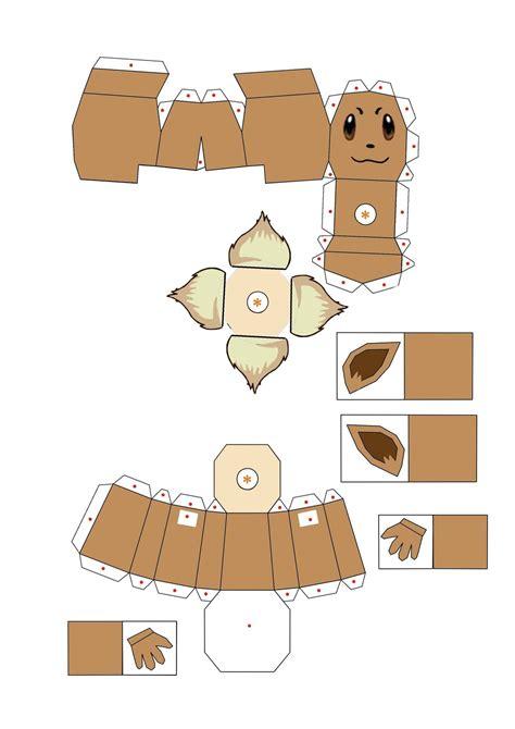 Eevee Papercraft - cubeecraft eevee images images