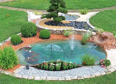 giardini con laghetti artificiali pi 249 di 25 fantastiche idee su laghetti da giardino su