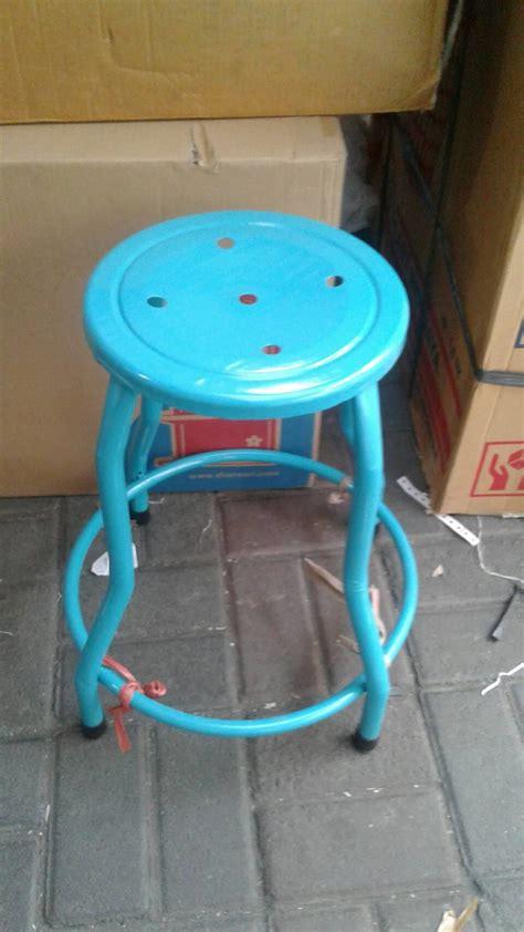 Kursi Besi Tinggi jual kursi tinggi bar etalase besi bulat antik harga murah