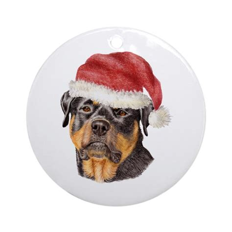 rottweiler ornament rottweiler ornament by doggyprint