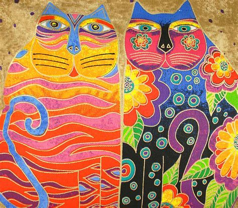 pattern cat art lesson quotes by laurel burch like success