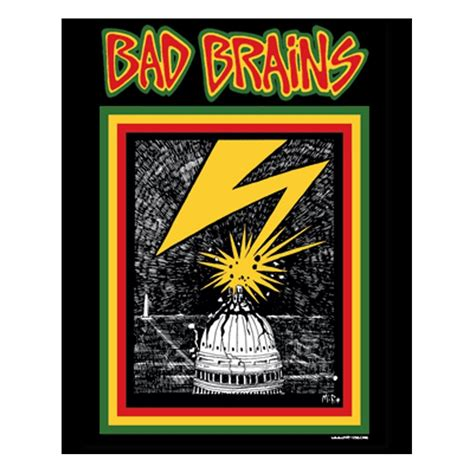 Home Decor Items by Bad Brains Capitol Sticker
