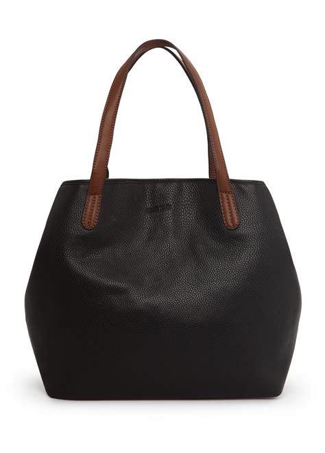 Mango Bag Sale mango adjustable shape shopper bag in black lyst