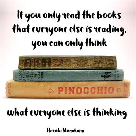 if only books wednesday wisdom quote from haruki murakami on books