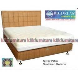 Guhdo Springbed Uk 160x200x40cm Kasur Saja 1 bigdream springbed silver sandaran italiano distributor