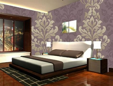 purple and gold bedroom ideas bedroom wallpaper for an attractive look decor10 blog