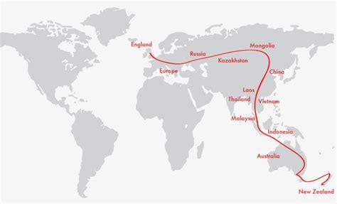 map uk to australia revisiting home part 1 circumnavigating the globe otago
