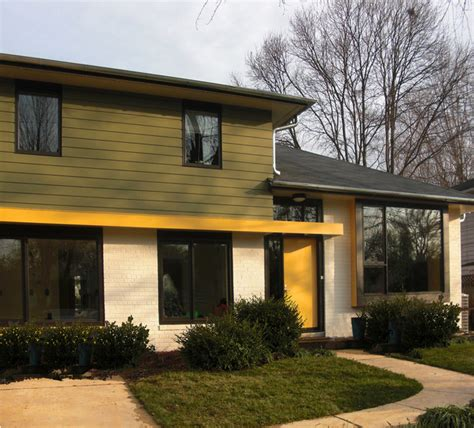 modern split level homes fifties split modern entry dc metro by gardner