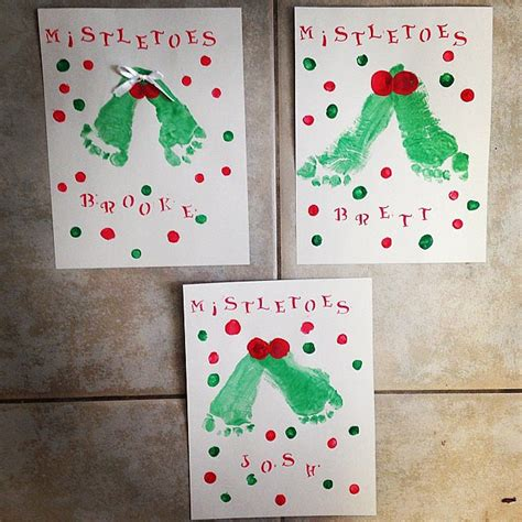 mistletoe craft for mistletoes 11 easy crafts for the kiddos