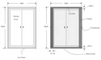 door frame size of door frame