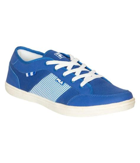 Casual Sneakers In Blue by Fila Sneakers Blue Casual Shoes Buy Fila Sneakers Blue