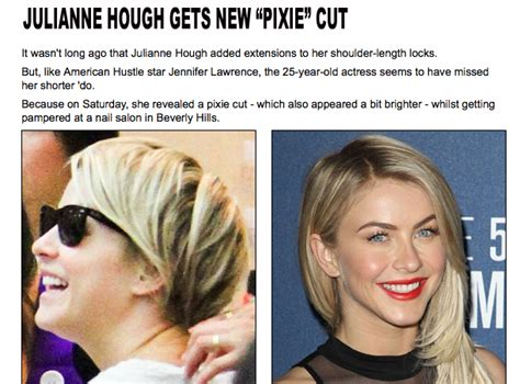julianne huff new haircut disgusted by amusement the hair of some cunt named