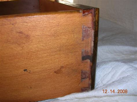 Handmade Dovetail Joints - a craftsman s theory on why handmade dovetails are so