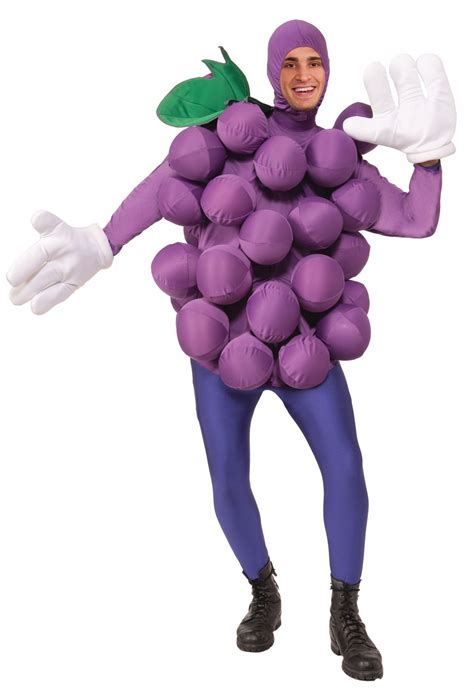 Adlt Out Of The Blue purple grapes costume for adults buycostumes