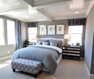 Gray And White Bedroom by Oops I Did It Again Centsational