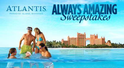 Atlantis Sweepstakes 2017 - island hotel company atlantis always amazing sweepstakes sun sweeps
