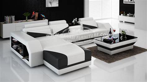 foshan modern sofa furniture supplier ganasi leather sofa