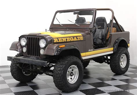 1982 Jeep Wrangler For Sale 1982 Used Jeep Wrangler Cj7 Renegade 4x4 At Eimports4less