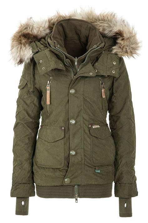 winter vest khujo s winter jacket margret olive 320 http www trendboxx eu khujo womens