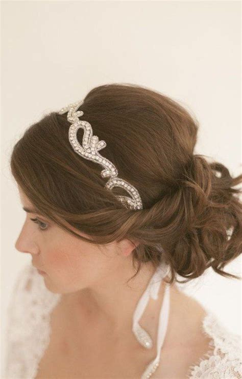 Bridal Hairstyles For Hair With Headband by 15 Gorgeous Wedding Hairstyles With Headband