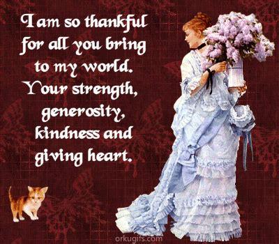 thankful    bring   world