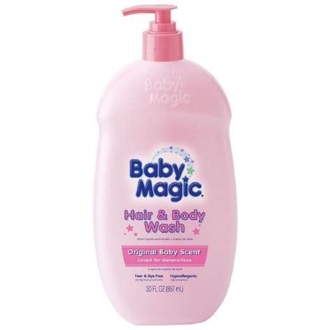 Trulum Magic Water All In One Original Produk baby magic hair and wash original baby scent 30 oz