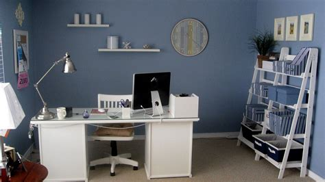 office adjustable home office decor ideas with blue