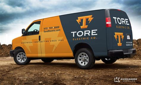 electric company truck tore electric co kickcharge creative kickcharge com