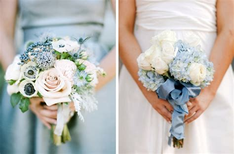 Blue Wedding Bouquets by 20 Something Blue Wedding Bouquets Southbound