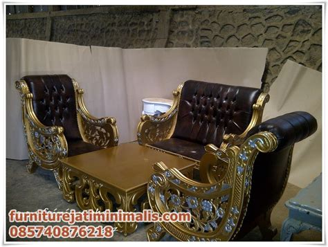 Set Kursi Tamu Garuda Ukir Jepara kursi tamu sofa ukir raffi ahmad kursi tamu sofa uki furniture jati minimalis furniture jati