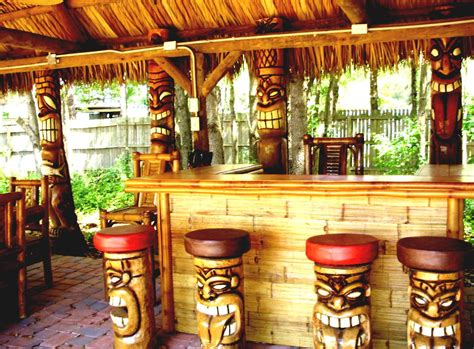 Tiki Bar Triyae Backyard Tiki Bar Names Various Design
