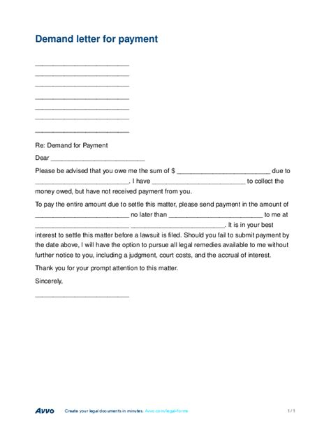 Demand Letter Judgment Doc 575709 Demand Letter Sle Demand Letter Template