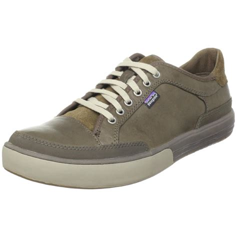 patagonia mens whino lace moo walking shoe in brown for