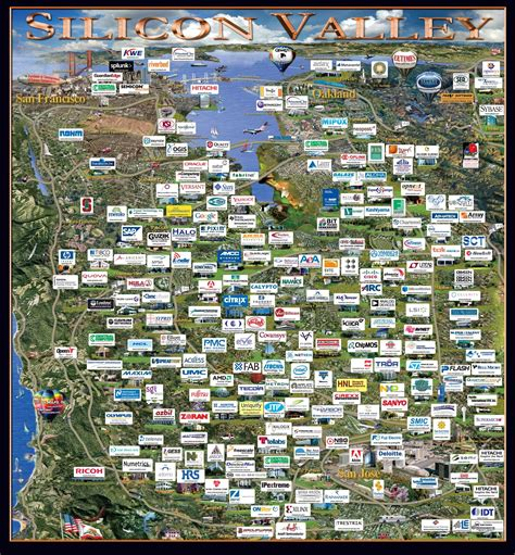 silicon valley map why startups move to silicon valley siliconangle