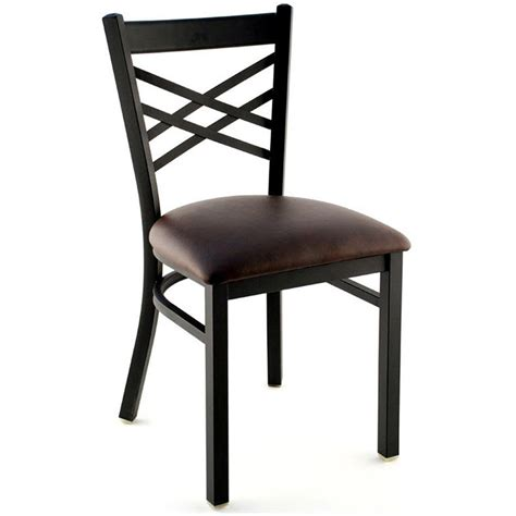 X Back Bistro Chair X Back Metal Restaurant Chair