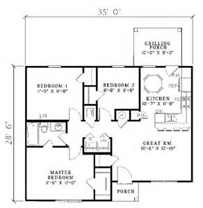 Small Ranch Floor Plans House Plans Small Ranch House Of Sles