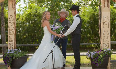 Heartland actress Amber Marshall's ranch wedding
