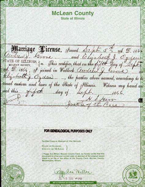 Jackson County Marriage License Records Knowles Genealogy Photoblog
