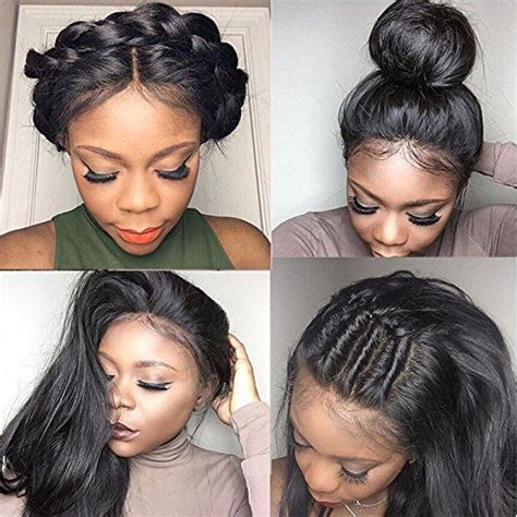 different styles or ways to fix human hair 25 best ideas about lace front wigs on pinterest front