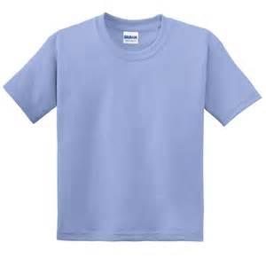 Kaos Polos Gildan Blue Sapphire Size M gildan 8000b youth dryblend t shirt carolina blue fullsource